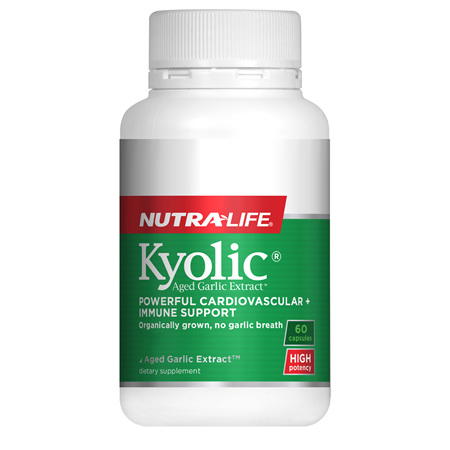 NUTRA-LIFE Kyolic High Potency 60caps