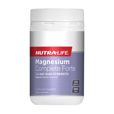 NUTRA-LIFE Magnesium Complete Forte 120Cap