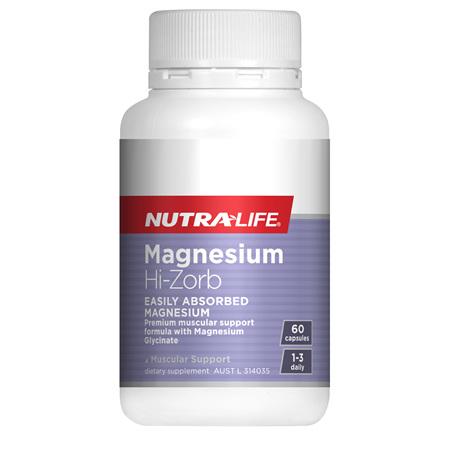 NUTRA-LIFE Magnesium Hi-Zorb 60Cap