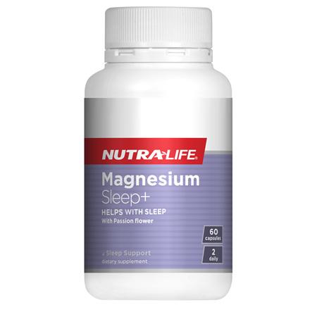 NUTRA-LIFE Magnesium Sleep+ 60Cap