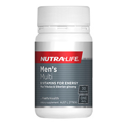 NUTRA-LIFE Mens Multi Complete 1-a-Day 30s