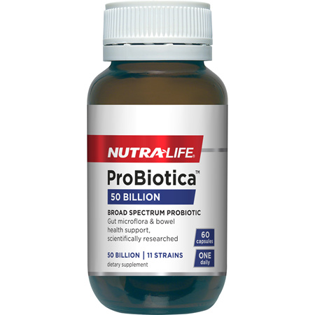 NUTRA-LIFE Probiotic 50 Billion 60caps