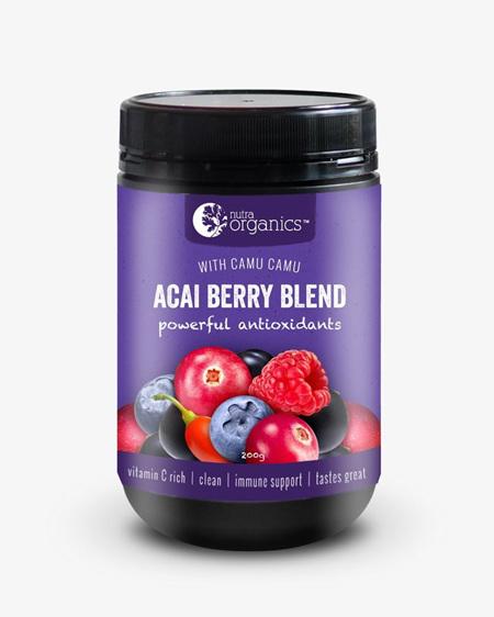 Nutra Organics Acai Berry Blend 200g