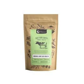 Nutra Organics Beef Bone Broth Powder - Garlic & Herb 100g