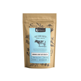 Nutra Organics Beef Bone Broth Powder - Hearty Original 100g