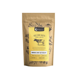 Nutra Organics Beef Bone Broth Powder - Turmeric 100g