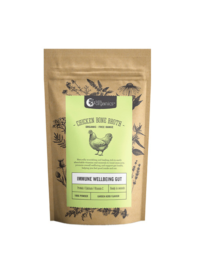 Nutra Organics Chicken Bone Broth Garden Herb