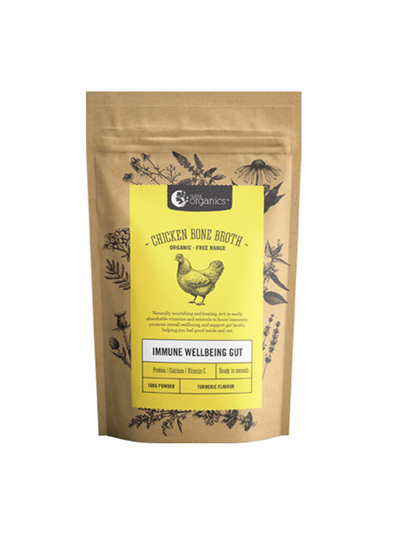 Nutra Organics Chicken Bone Broth Turmeric