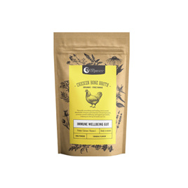 Nutra Organics Chicken Bone Broth Turmeric