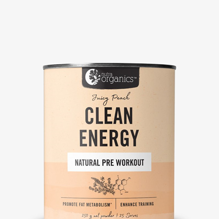Nutra Organics Clean Energy Powders - 250g