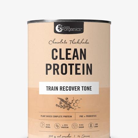 Nutra Organics Clean Protein Powders 500g