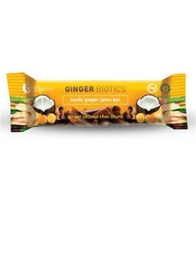 Nutra Organics Ginger Biotics Bar 45gm