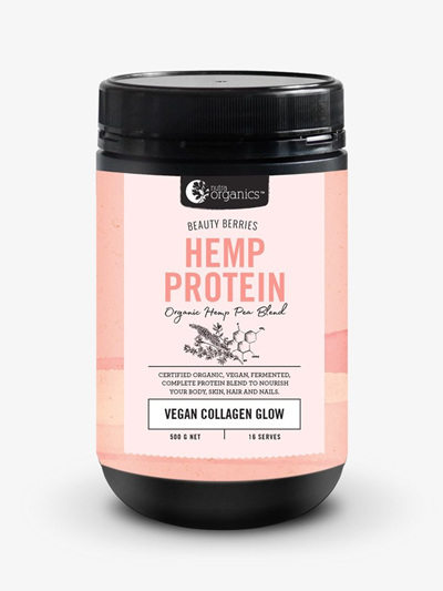 Nutra Organics Hemp Protein Beauty Berries 500g