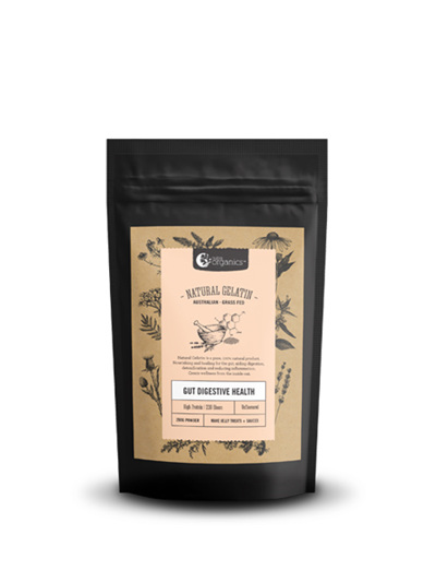 Nutra Organics Nutra Natural Gelatin 250g