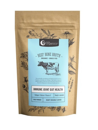 Nutra Organics Organic Beef Bone Broth Hearty Original 100g