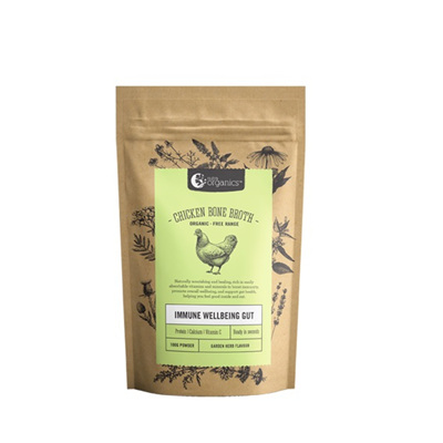 Nutra Organics Organic Chicken Bone Broth Garden Herb 100g