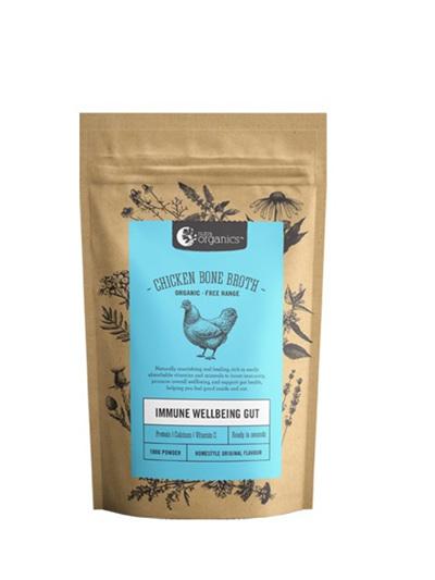 Nutra Organics Organic Chicken Bone Broth Homestyle Original 100g