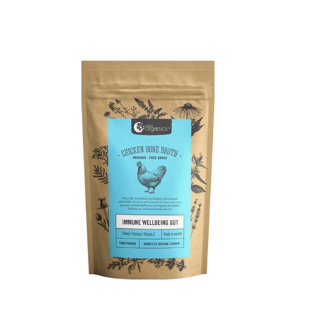 Nutra Organics Organic Chicken Bone Broth Powder -  2 Sizes