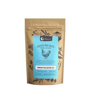 Nutra Organics Organic Chicken Bone Broth Powder -  2 Sizes