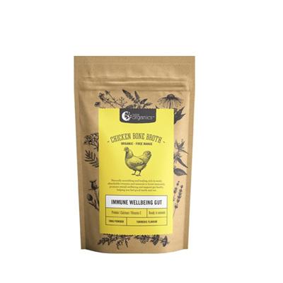 Nutra Organics Organic Chicken Bone Broth Turmeric 100g