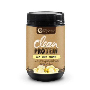 Nutra Organics Organic Clean Protein Vanilla 500g