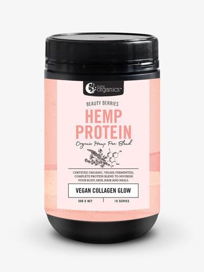 Nutra Organics Organic Hemp Protein Beauty Berries 500g