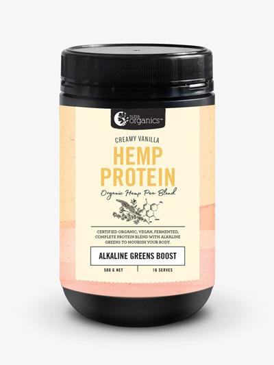 Nutra Organics Organic Hemp Protein Creamy Vanilla 500g