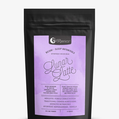 Nutra Organics Organic Latte Lunar 90g