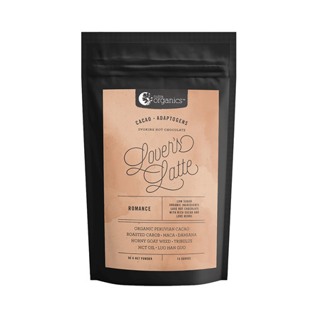 Nutra Organics Organic Lovers Latte