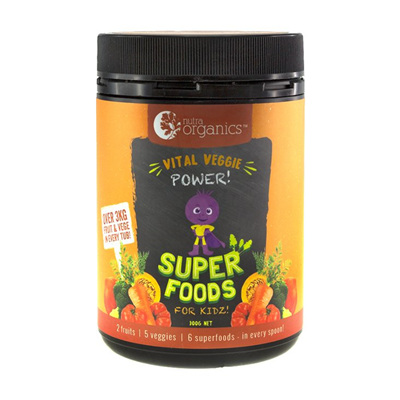 Nutra Organics Super Foods Vital Veggie Power 300g