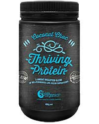 Nutra Organics Thriving Protein Coconut Choc 450gm