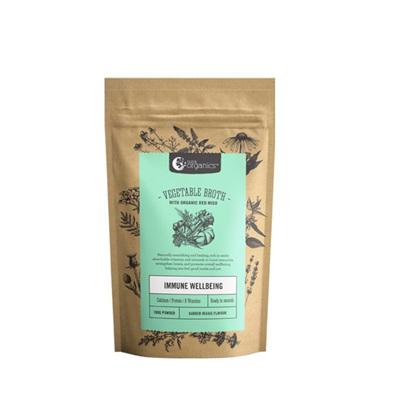 Nutra Organics Vegetable Broth Garden Veggie 100g