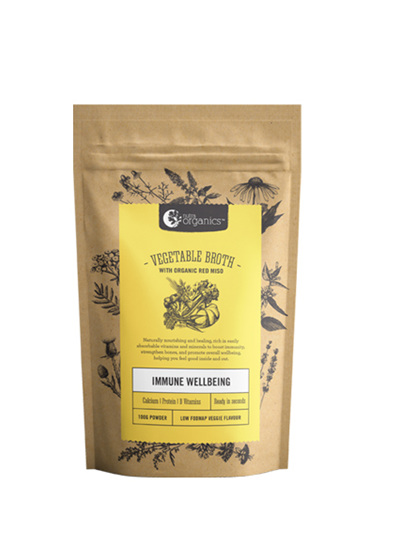 Nutra Organics Vegetable Broth Low FODMAP 100g