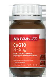 Nutralife CoQ10 300mg - 30 capsules