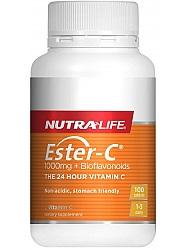 nutralife Ester C 1000MG 100 tabs