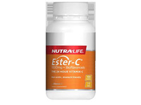 Nutralife Ester C 1000Mg  Bioflavonoids 100 Tablets
