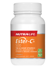 Nutralife Ester C 500 120 Chewable Tabs