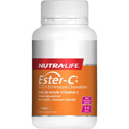 NutraLife Ester C 500mg  Echinacea Chewable Tablets 60s