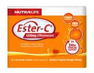 Nutralife EsterC 1200Mg Effervescent Sachets