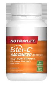 Nutralife EsterC Advanced Immune  30 capsules 60 capsules in photo