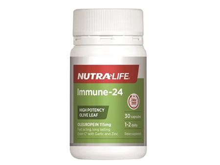 Nutralife Immune 24 30 capsules