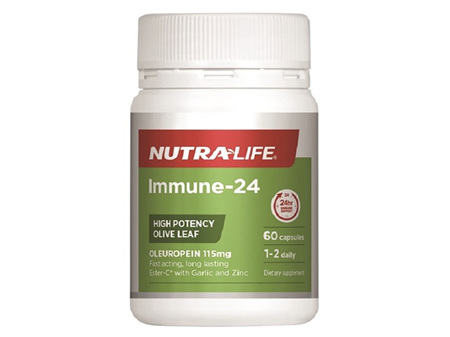 Nutralife Immune24 60 capsules