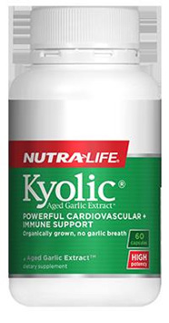 Nutralife Kyolic® Aged Garlic Extract™ - 60 capsules