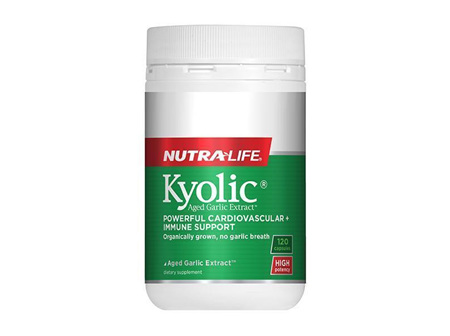 Nutralife Kyolic Aged Garlic Extract High Potency 120 Capsules