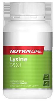 Nutralife Lysine 1200 - 60 tablets