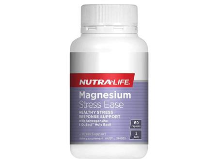 NutraLife Magnesium Stress Ease 60 Cap
