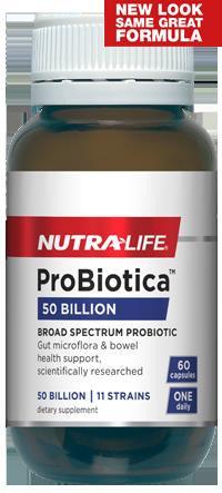 Nutralife Probiotica 50 Billion - 30 capsules