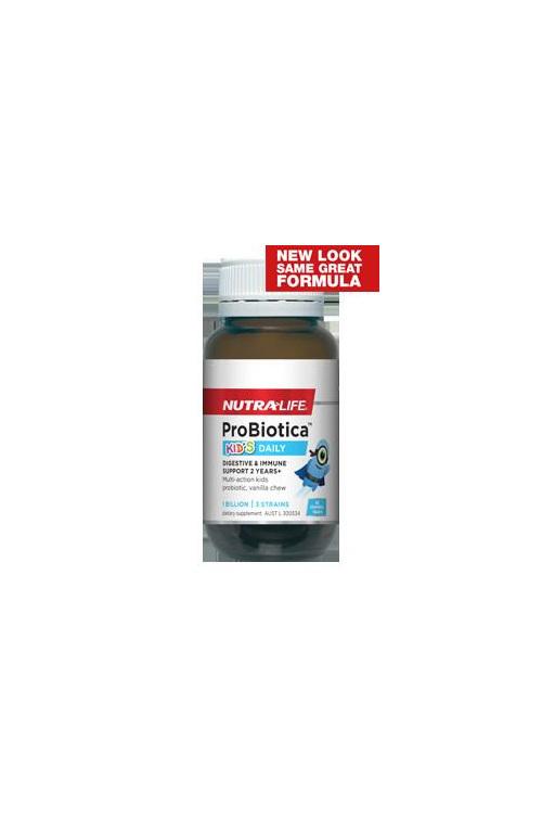 Nutralife Probiotica for Kids - 30 chewable tablets
