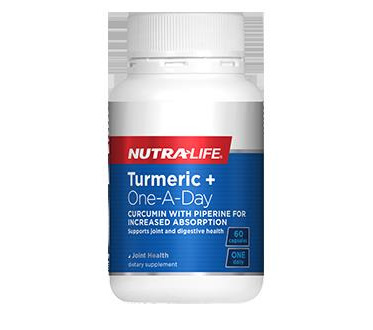 Nutralife Turmeric + One-A-Day - 60 capsules