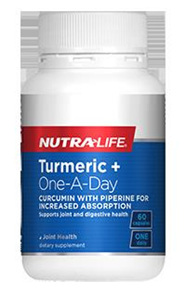 Nutralife Turmeric  OneADay  60 capsules